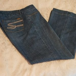 Seven 7 Luxe Blue Jeans Size 18